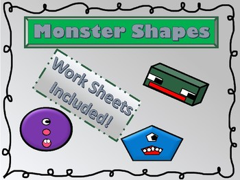 2D and 3D Shapes: Monster Shapes: