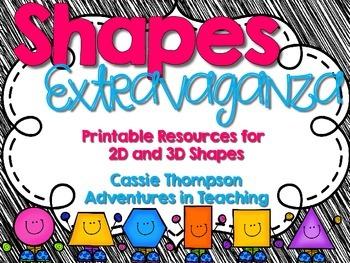 2D/3D Shapes Extravaganza