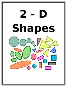 2D and 3D Shapes Posters