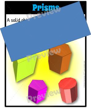 Shape Posters - 2D & 3D Shape Posters
