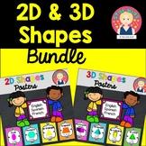 Les Formes Géometriques en 2D et 3D BUNDLE - Polka Dots