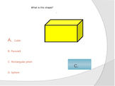 2D and 3D Shapes Powerpoint