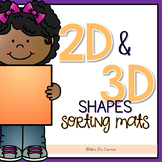 2D and 3D Shapes Sorting Mats