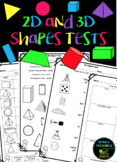 2D and 3D Shapes Tests - Differentiated