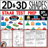 2D and 3D Shapes  STAAR Test Prep
