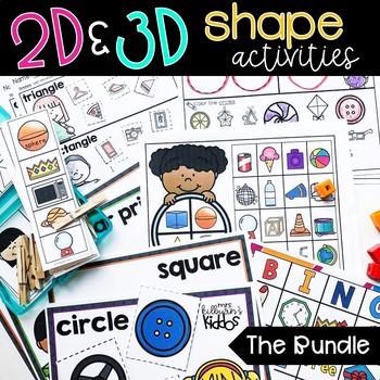 2D and 3D Shapes {the Bundle}