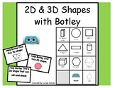 2D and 3D Shapes with Botley the Coding Robot