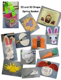 2D and 3D Spring/Easter Basket Project