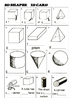 2D and 3D Worksheets - BEST REVISION ACTIVITY for Geometry
