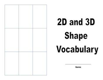 2D and 3D shape unit