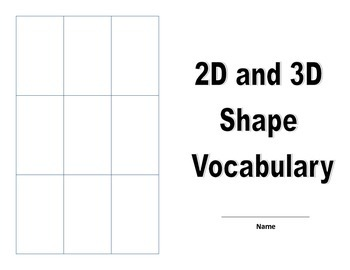 2D and 3D shape unit