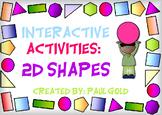 2D shape Notebook Presentation