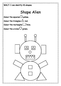 2d shape activities by karsenbarg education teachers pay teachers. Black Bedroom Furniture Sets. Home Design Ideas