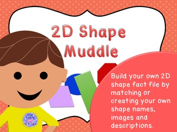 2D shape fact file activity
