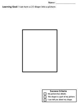 2D shape picture scaffolding