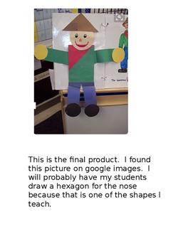 2D shape scarecrow