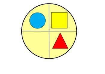 2D shape spinner