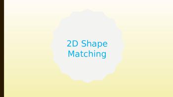 2D shape worksheet