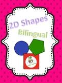 2D shapes Bilingual
