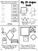 2D shapes/Las figuras English and Spanish