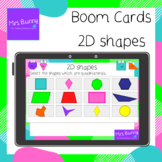 2D shapes NO PRINT Boom Cards™