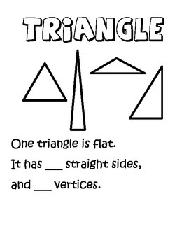 2D shapes, two-dimensional shapes