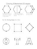 2D to 3D Worksheet
