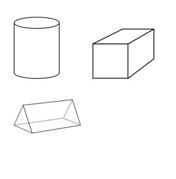 2D vs 3D shape sort and labeling activity
