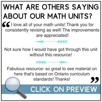 2D/3D Geometry Unit - complete math unit