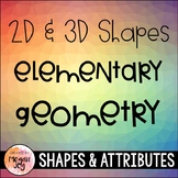 Geometry: 2D & 3D Shapes Unit