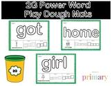 2G Power Word Play Dough Mats