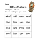 2G Power Word Search