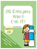 2G category Word Dab it!