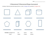 2.G.1  2-D and 3-D shape assessment