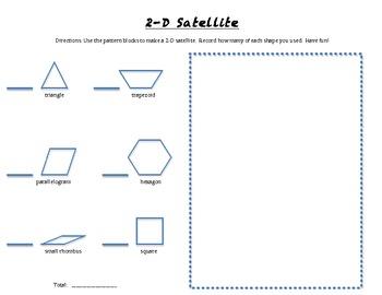 2.G.1  2-D satellite with pattern blocks