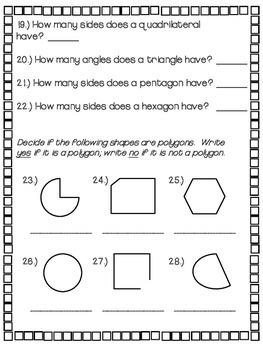 2.G.1 - Recognizing Shapes
