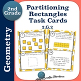 2.G.2 Task Cards Second Grade Partitioning Rectangles