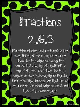 2.G.3 - Fractions