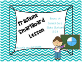 2.G.3 Fractions Smartboard Activity
