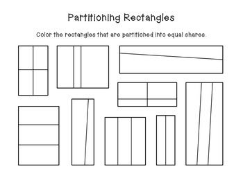 2.G.A.3 Partitioning Rectangles & Circles