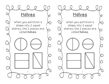 2.G.A.3 Partitioning Shapes Booklet