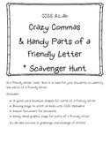 2.L.2b Crazy Commas & Handy Parts of a Friendly Letter + S