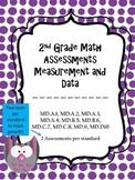 2.MD Assessments - 2nd Grade MD Math Assessments - 2 tests per standard!