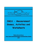 2MD1 - Measurement Activities, Games and Worksheets