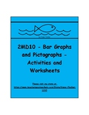 2MD10 - Bar Graphs and Pictographs - Activities and Worksheets