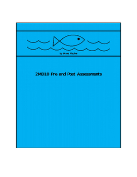 2MD10 Pre and Post Assessment Bank