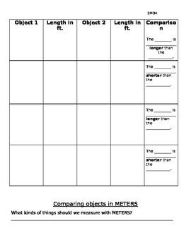 2MD4 Comparing measurements