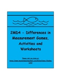 2MD4 - Differences in Measurement Games. Activities and Wo