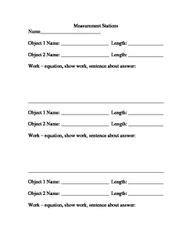2.MD.4 and 2.MD.1 Measure Objects and Compare Lengths Lesson Plan