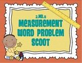 2.MD.5 Measurement Word Problem Scoot